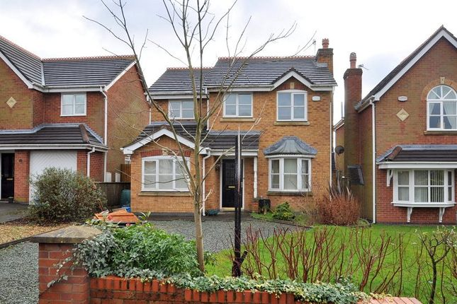 Thumbnail Detached house for sale in Wayside Avenue, May Bank, Newcastle, Staffordshire