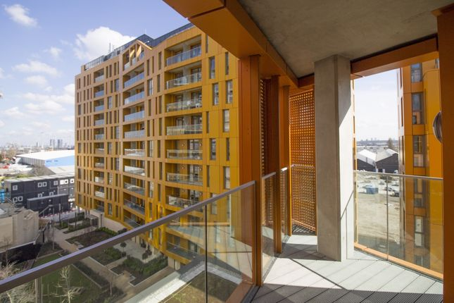 Balcony of Tiggap House, Enderby Wharf, Greenwich SE10