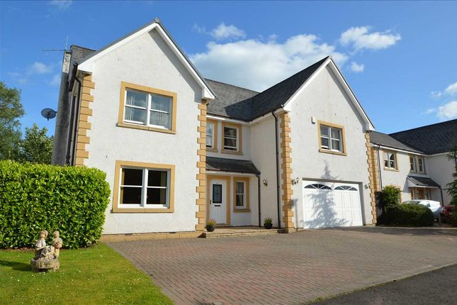 Thumbnail Detached house for sale in Holmwood Park, Crossford, Carluke