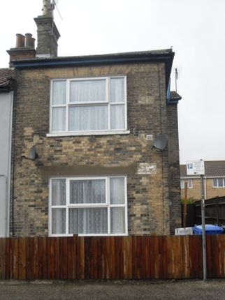 Thumbnail End terrace house to rent in Arnold Street, Lowestoft