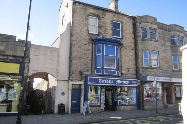 Thumbnail Retail premises for sale in Market Place, Barnard Castle