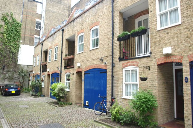 Thumbnail Mews house to rent in Rutland Mews, St Johns Wood, London