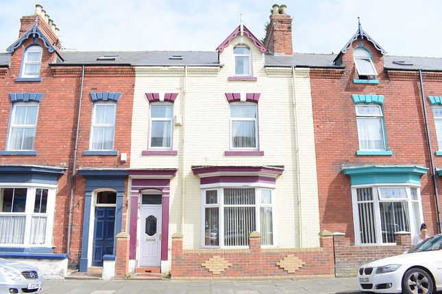 Thumbnail Terraced house to rent in Grosvenor Street, Hartlepool