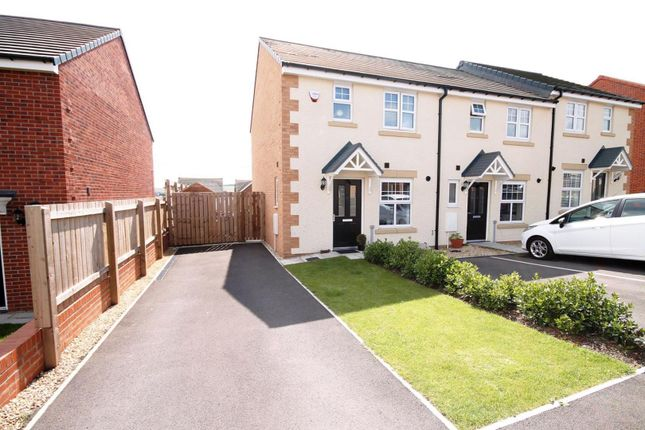 Thumbnail Semi-detached house for sale in Grant Close, Ushaw Moor, County Durham