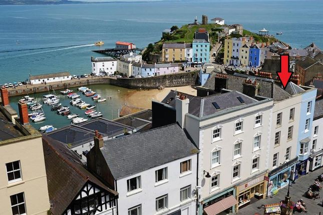 Thumbnail Town house for sale in Tudor Square, Tenby