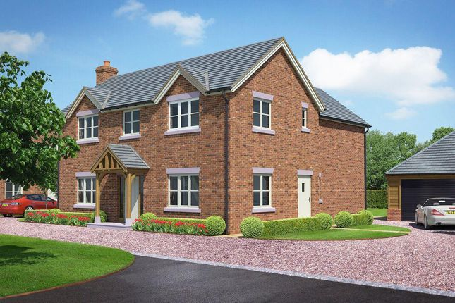 Thumbnail Detached house for sale in The Beeches, Shrewsbury Road, Hadnall, Shrewsbury