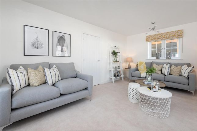 Thumbnail Terraced house for sale in Nightingale Drive, Evabourne, Wouldham, Rochester, Kent