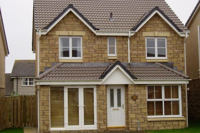 Thumbnail Detached house to rent in Highfield Way, Stonehaven