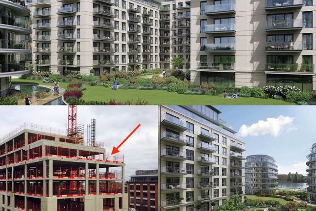 Thumbnail Flat for sale in Penthouse, Faulkner House, Fulham Reach