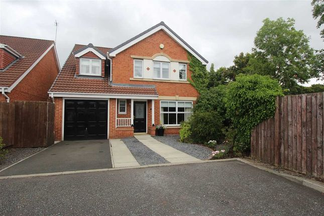 Thumbnail Detached house for sale in Loxton Square, Southfield Gardens, Cramlington