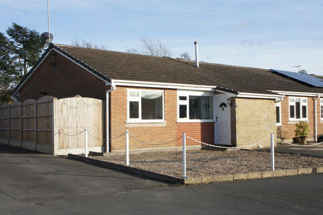 Thumbnail Semi-detached bungalow for sale in Chitterman Way, Markfield