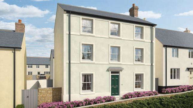 5 bed detached house for sale in Plot 38, Bellacouch Meadow, Chagford TQ13