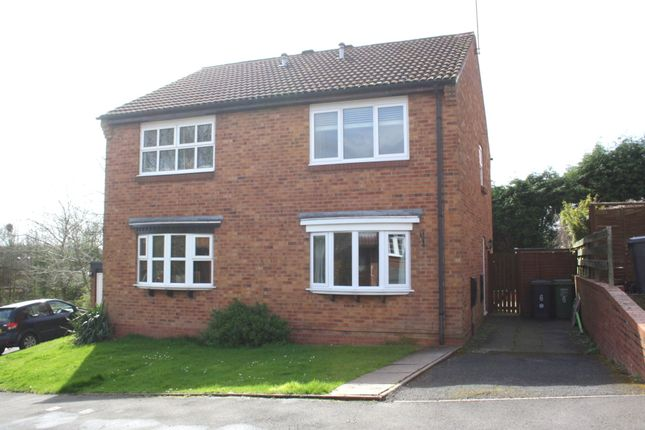 Thumbnail Semi-detached house to rent in Rangeworthy Close, Webheath, Redditch