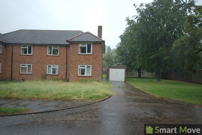 Thumbnail Semi-detached house to rent in Sparrow Close, Brampton, Huntingdon, Cambridgeshire.