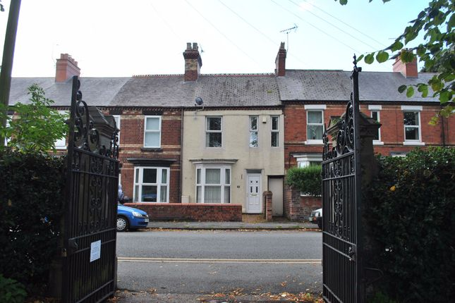 Thumbnail Terraced house to rent in Ruthin Road, Wrexham