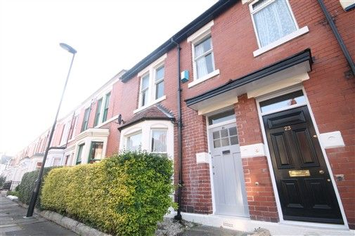 Thumbnail Terraced house to rent in Albemarle Avenue, Newcastle Upon Tyne