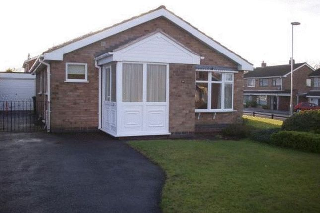 Thumbnail Detached bungalow to rent in Kenmore Crescent, Coalville