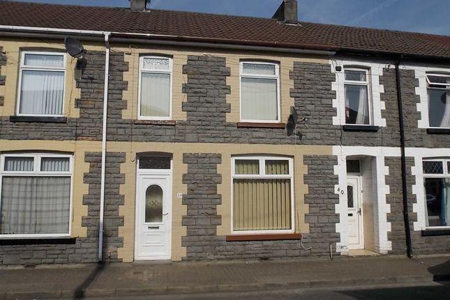 Thumbnail Terraced house to rent in Telekebir Road, Hopkinstown, Pontypridd