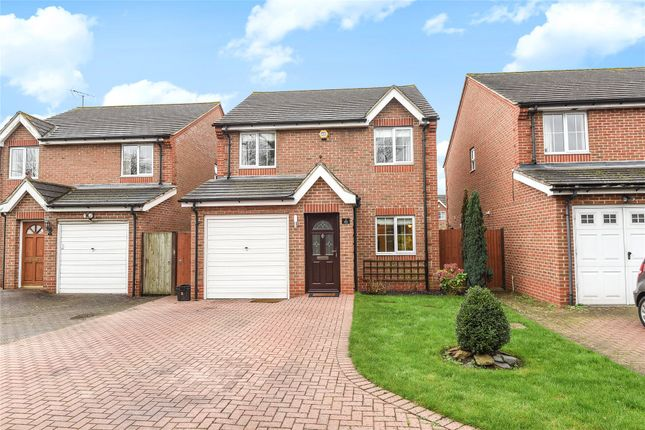 Thumbnail Detached house to rent in Arne Close, Reading Road, Winnersh, Wokingham