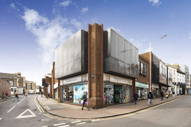 Thumbnail Retail premises for sale in 60-68 High Street, Ramsgate, Kent