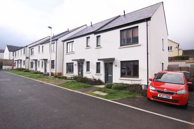 Thumbnail 3 bed semi-detached house to rent in Broom Park, Okehampton