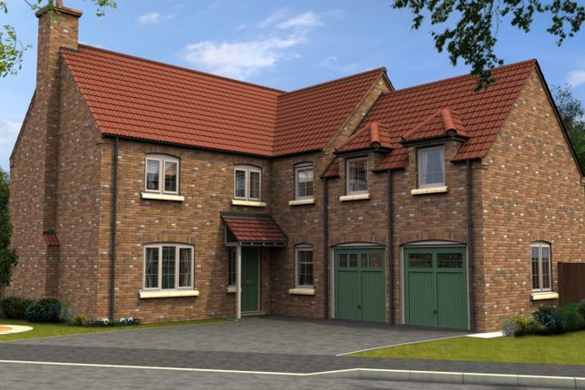 Thumbnail Detached house for sale in The Westhorpe, Thorpe Lane, South Hykeham, Lincolnshire