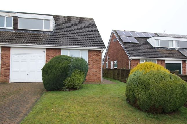 Thumbnail Semi-detached house to rent in Lockwood Avenue, South Anston, Sheffield