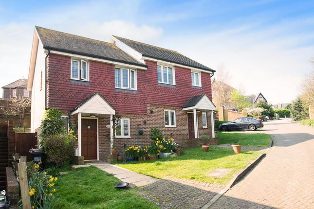 Thumbnail Semi-detached house for sale in Rossington Close, Eastbourne