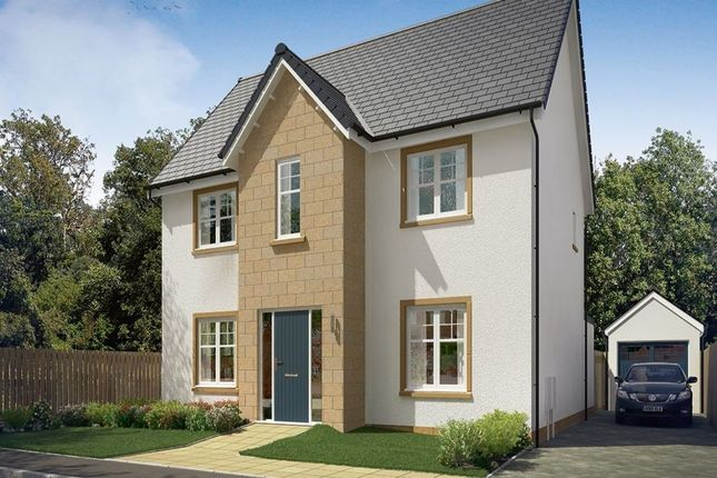 Thumbnail Detached house for sale in Shiel Hall Row, Rosewell