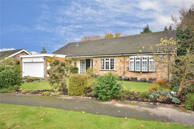 Thumbnail Bungalow for sale in The Glade, Scarcroft, Leeds, West Yorkshire