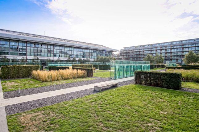 Communal Gardens of Highbury Stadium Square, London N5