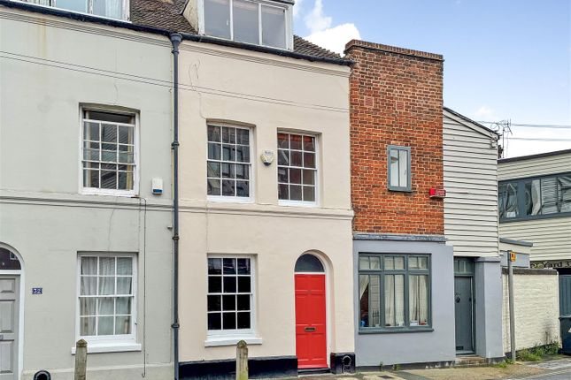Thumbnail Terraced house for sale in King Street, Canterbury