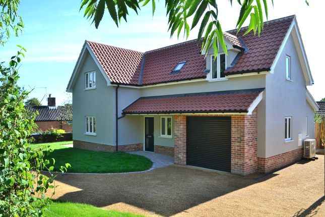 Thumbnail Detached house for sale in Victoria Terrace, Fressingfield, Eye