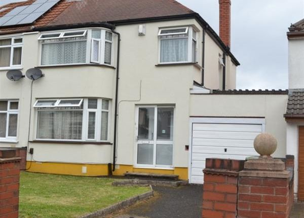 Thumbnail Semi-detached house to rent in Himley Crescent, Penn, Wolverhampton