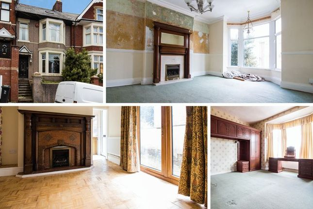 Thumbnail Terraced house for sale in St. Johns Road, Newport