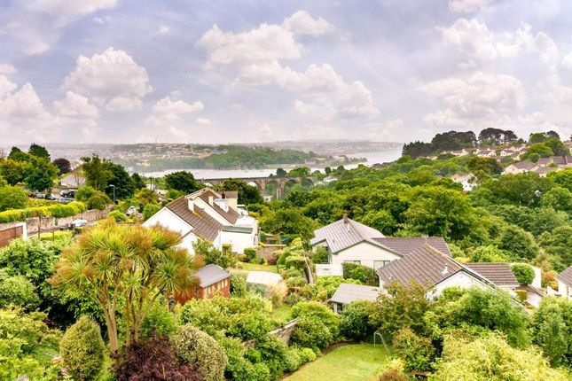 Thumbnail Semi-detached house for sale in Higher Port View, Saltash, Cornwall
