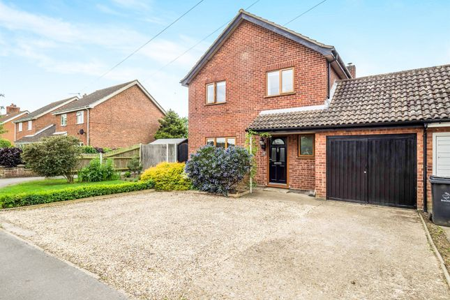 Thumbnail Link-detached house for sale in Norwich Road, Bawdeswell, Dereham