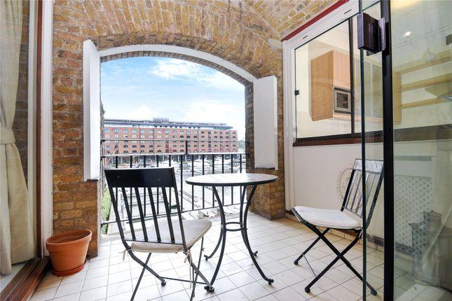 Balcony of Ivory House, East Smithfield, London E1W