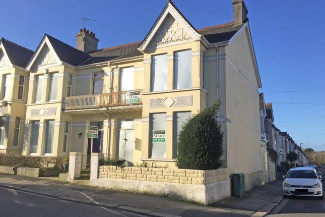 Thumbnail End terrace house for sale in 53 Trelawney Road, Peverell, Plymouth, Devon