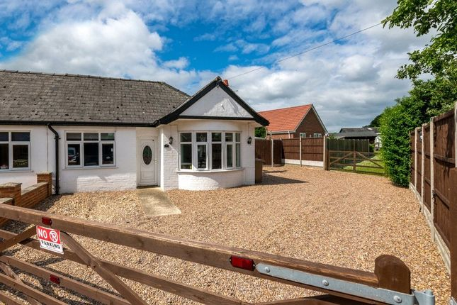 Thumbnail Semi-detached bungalow for sale in Walcott Road, Billinghay, Lincoln, Lincolnshire
