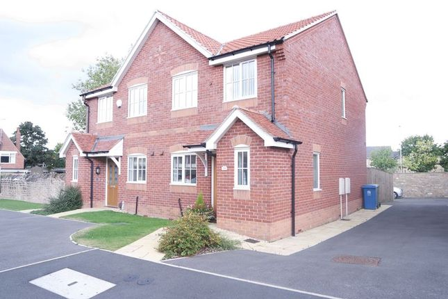 Thumbnail Semi-detached house for sale in Digby Court, Mansfield Woodhouse, Mansfield