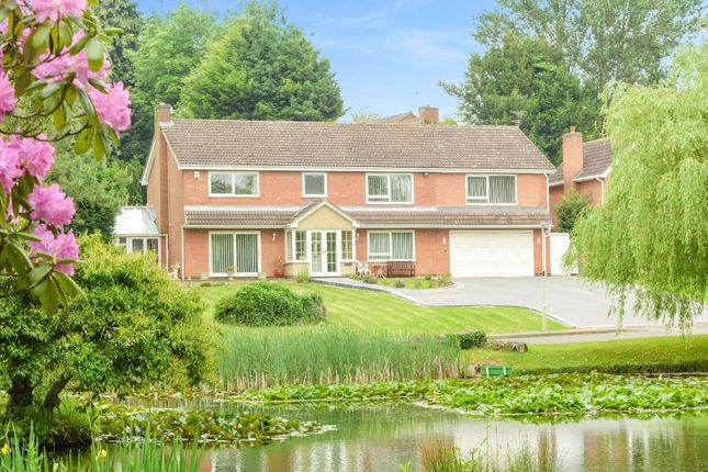 Thumbnail Detached house for sale in Lakeside Court, Thurnby, Leicester