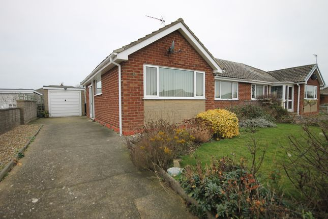 Thumbnail Semi-detached bungalow for sale in Harewood Drive, Filey