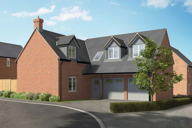 "Thumbnail Detached house for sale in ""The Helmsdale"" at Hill Top Close, Market Harborough"