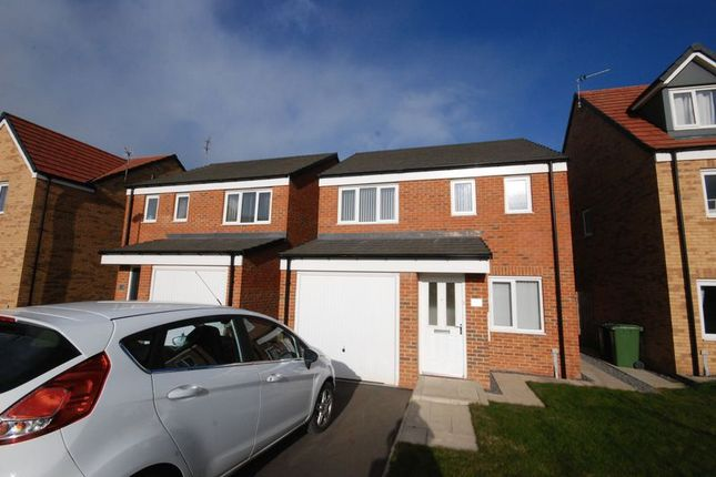 Thumbnail Detached house for sale in Maindstone Gardens, Ashington