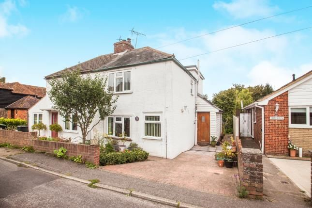 Thumbnail Semi-detached house for sale in School Lane, Blean, Canterbury, Kent