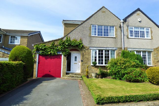 Thumbnail Semi-detached house for sale in Riddings Avenue, Worsthorne, Burnley