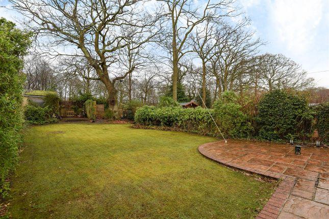 Garden of Greenfield Crescent, Waterlooville PO8