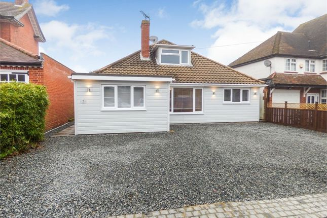 Thumbnail Detached bungalow for sale in Bury Road, Epping, Essex