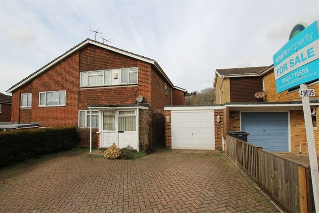 Thumbnail Semi-detached house for sale in Birch Way, Hastings, East Sussex